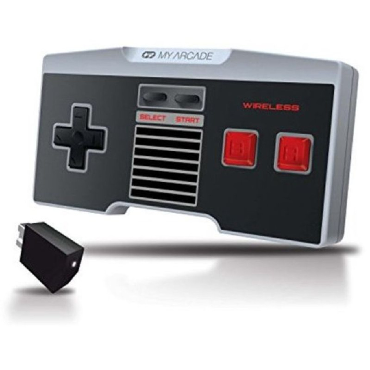 My Arcade GamePad Classic Non Wired Controller for NES Classic Edition - 2 Pack