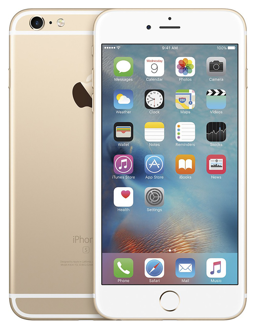 Apple iPhone 6s Plus 64GB Unlocked GSM 4G LTE Dual-Core Phone w/ 12MP Camera - Gold (Used)