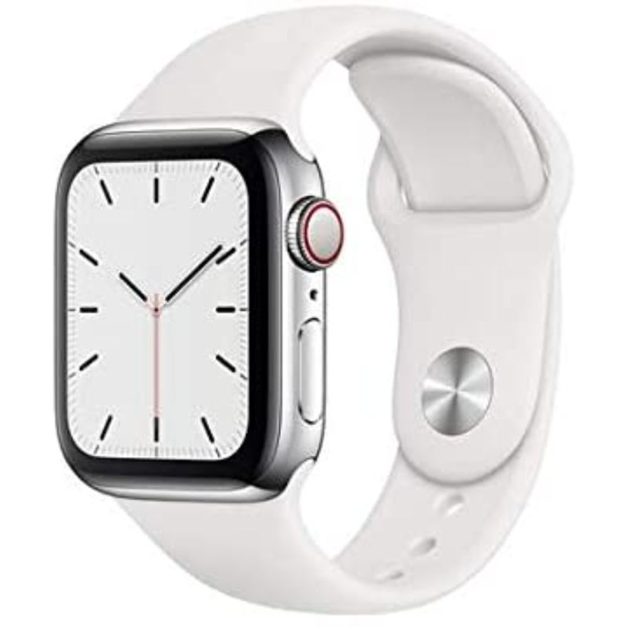 Apple Watch Series 5 44mm GPS and Cellular Stainless Steel Case