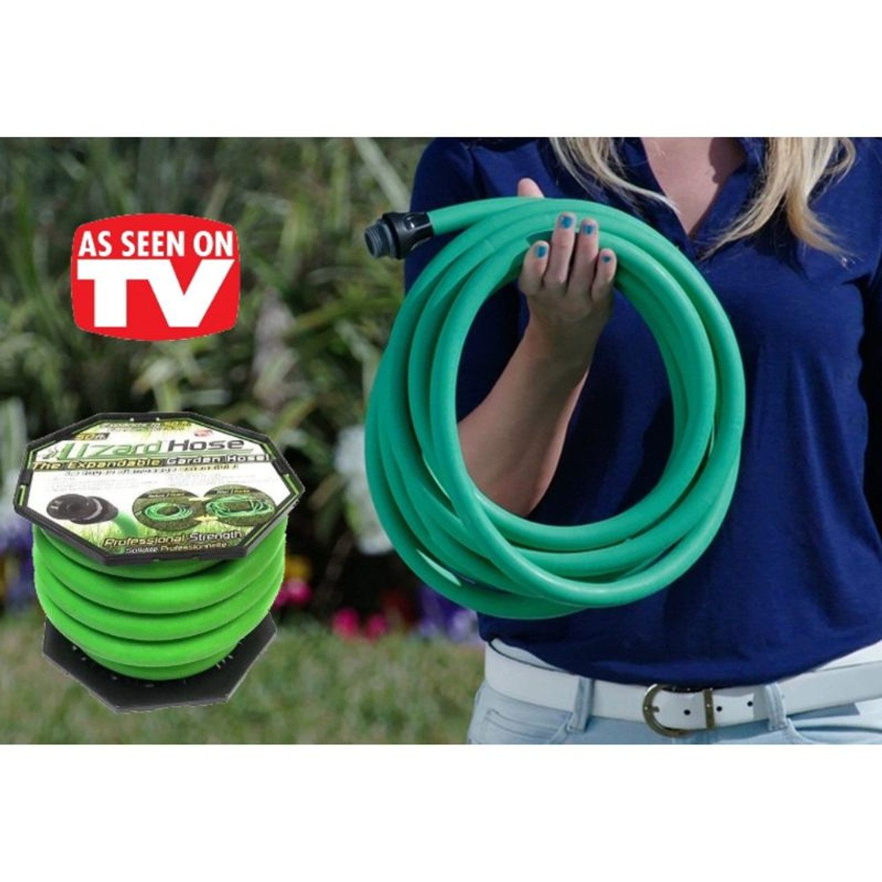 Lizard Hose The Amazing Expandable Garden Hose As Seen On TV - 50 or 100ft