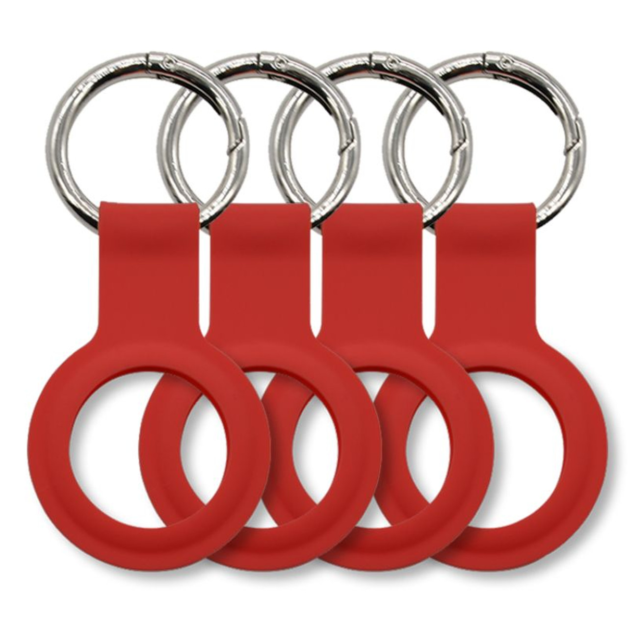 Lightweight and Durable AirTag Loops - 4 Pack