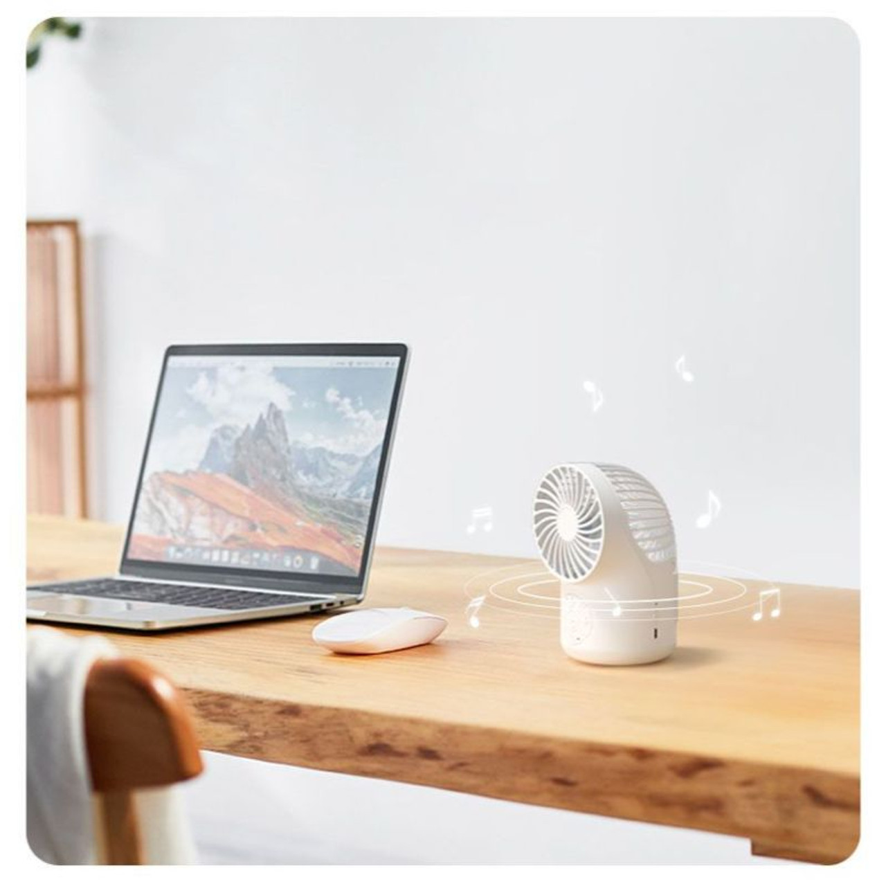 Cool Tunes Wireless Enabled 3-Speed Fan with Micro USB Cable