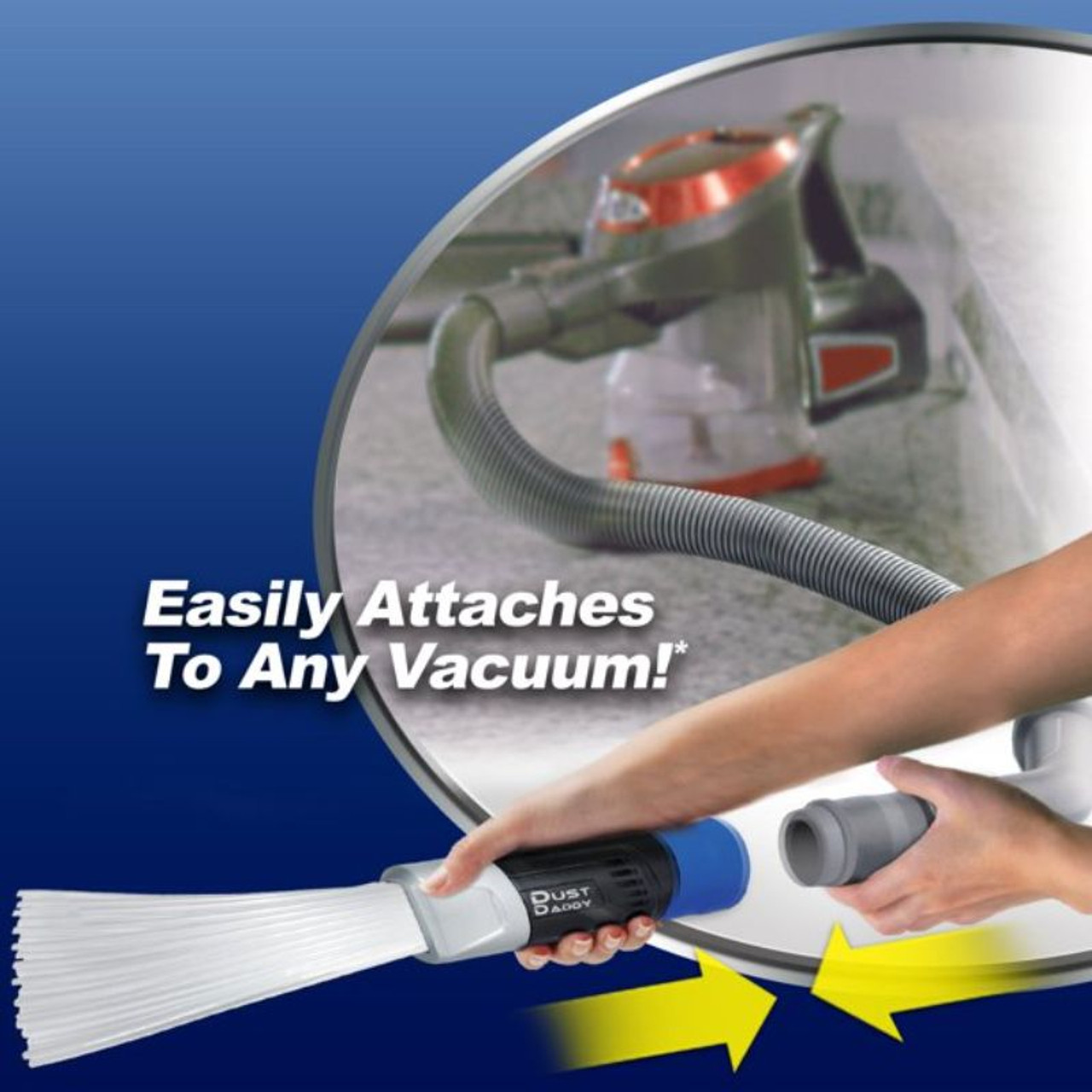 As Seen On TV Dust Daddy Dust Cleaning Tool Vacuum Attachment