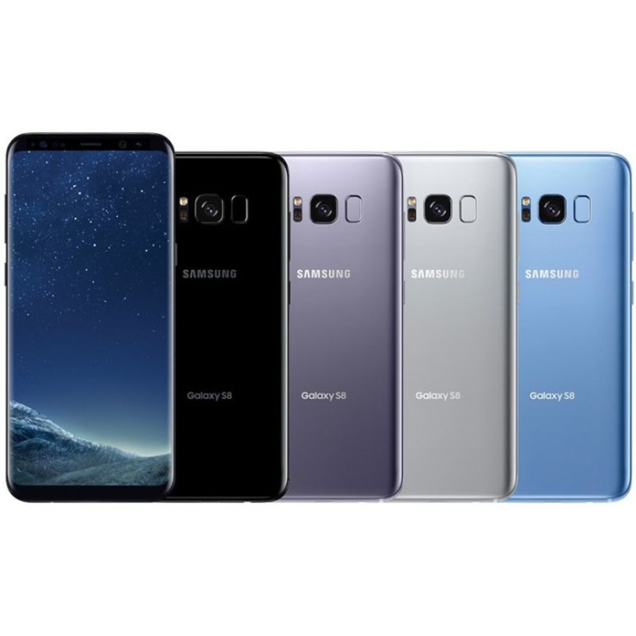 Samsung Galaxy S8 or S8 Plus Fully Unlocked 64 GB Smartphone - Scratch and Dent