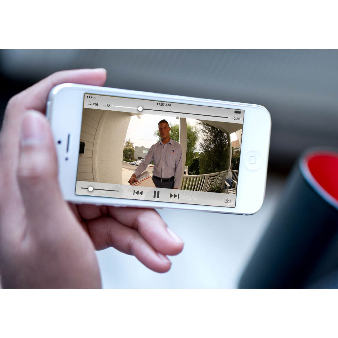 Ring Video Doorbell Pro - Wi-Fi & Smartphone Enabled - Certified Refurbished