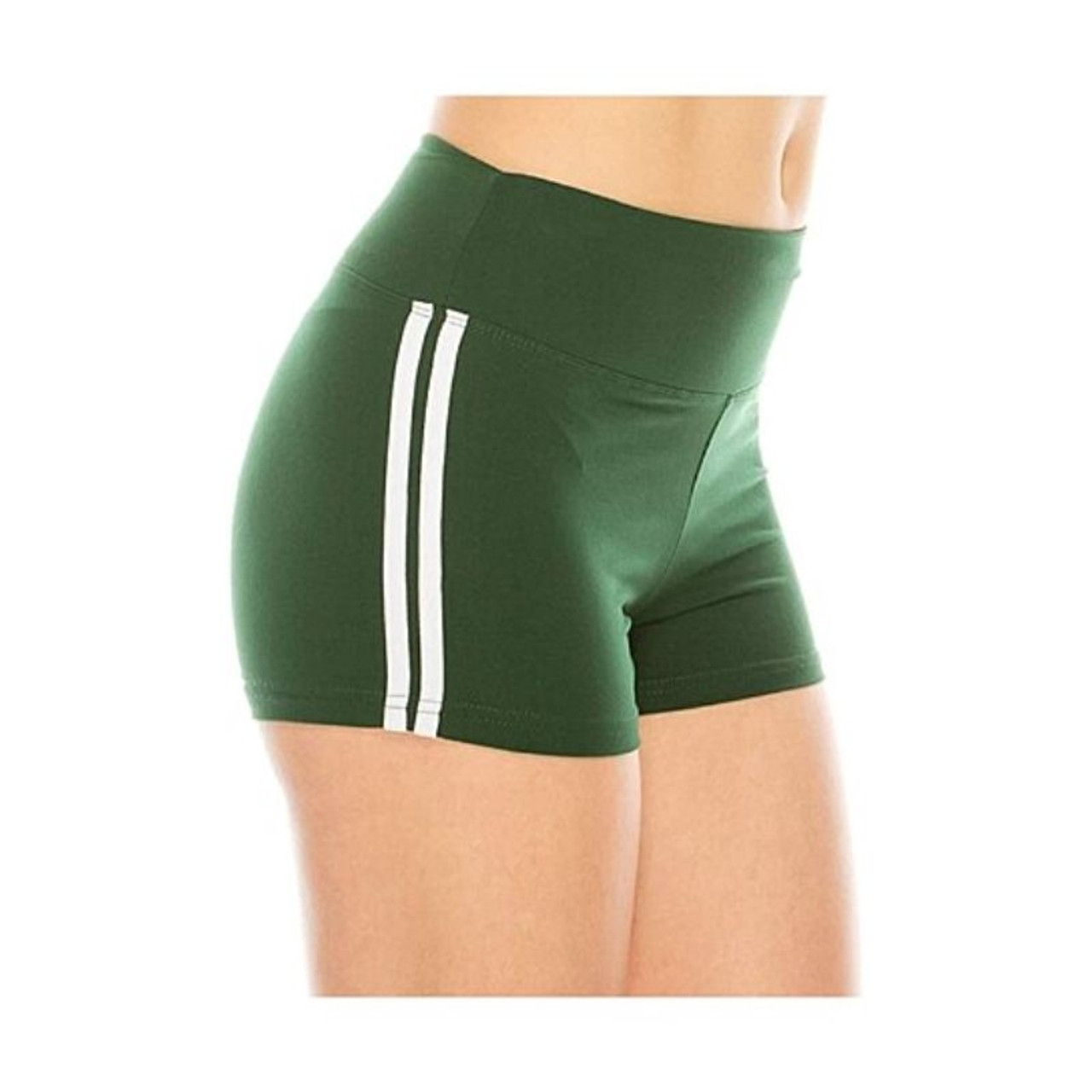 Women's Ultra-Soft Stretchy Athletic Workout Yoga Shorts - 5 Pack
