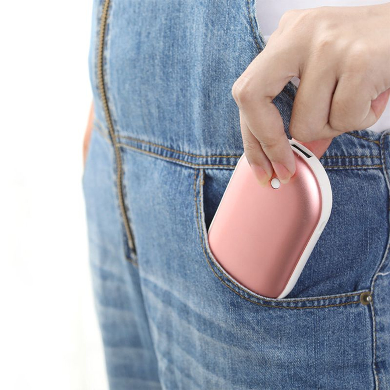 Mobile Power Bank with Hand Warmer