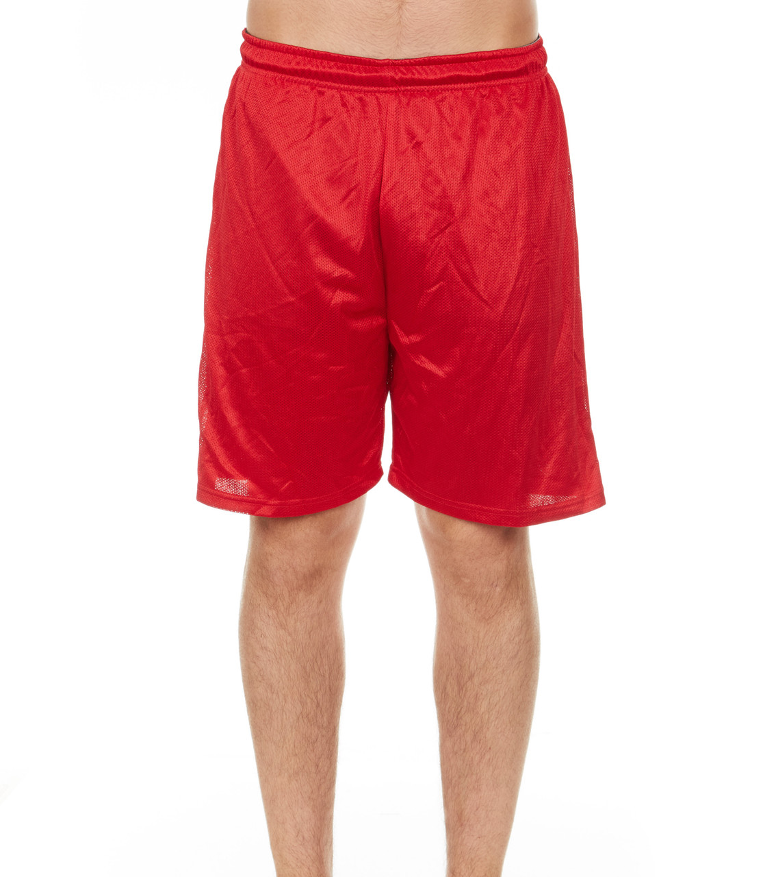 Men's Mystery Solid Active Athletic Performance Shorts - 4 Pack