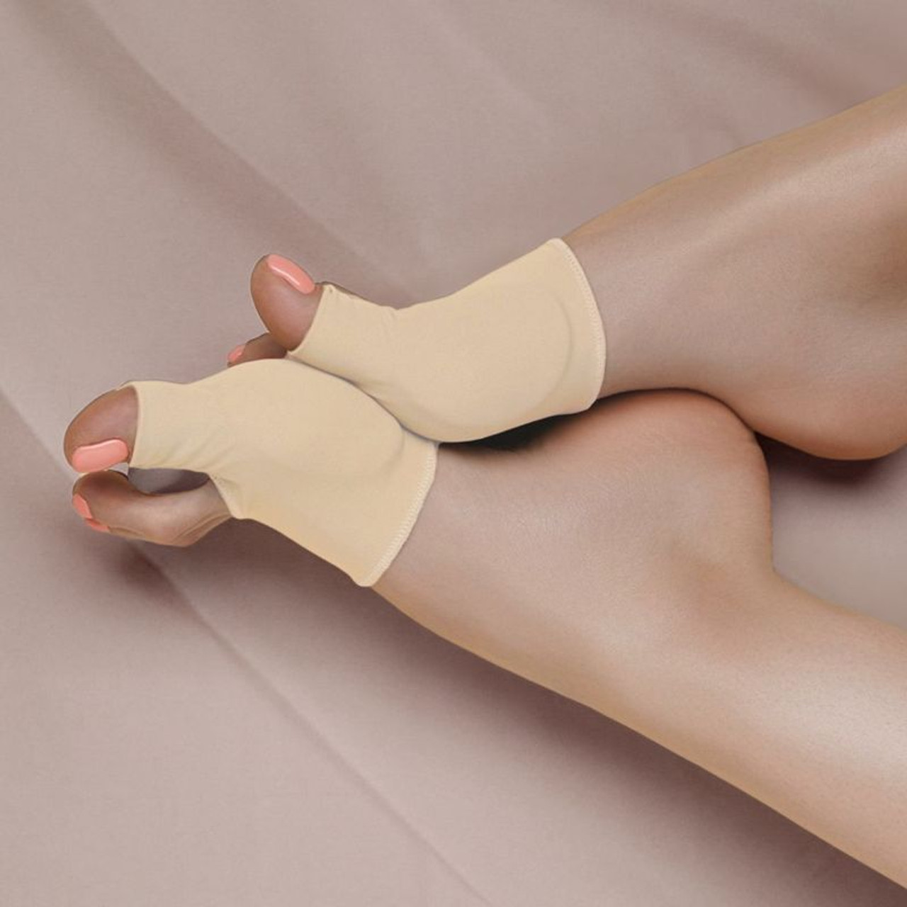 Orthopedic Gel-Infused Bunion Protector and Pain-Relief Detoxing Sleeve - 1 Pair