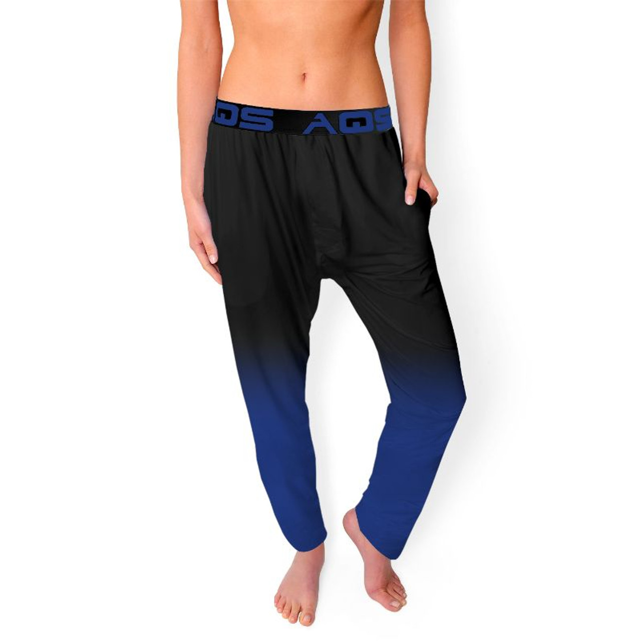 AQS Women's Ombre Lounge Pants with Elastic Waistband