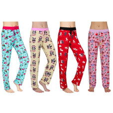 Women's Ultra-Soft Assorted Lounge Pants - 3 Pack