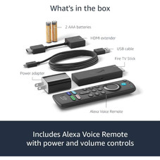 Amazon Fire TV Stick 3rd Gen with Alexa Voice Remote with TV controls