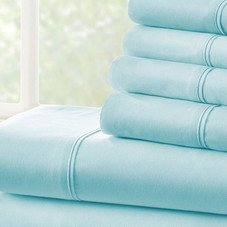 Home Collection Luxury Ultra Soft 6 Piece Bed Sheet Set
