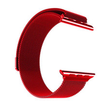 Stainless Steel Milanese Loop Band Replacement for Apple Watches Series 1-6 and SE