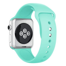 Silicone Watch Band Compatible with Apple Watch 6 5 4 3 SE - 1 or 2 Pack