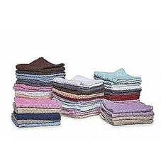"""100% Cotton Absorbent Kitchen Towel Washcloth Set, 13""""x13"""" - 24 or 48 Pack"""