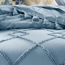 Lucky Brand Queen Diamond Tuft Bed Cover