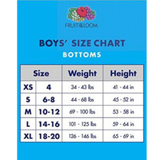 Fruit of the Loom Boys' Boxer Brief - 5 Pack