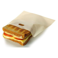 Reusable Non-Stick Toaster Bags - 12 Pack