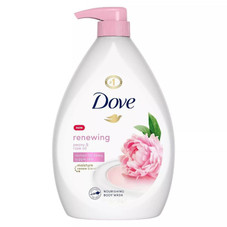 Dove Shower Gel Body Wash with Pump, 27oz Each- 4 Pack