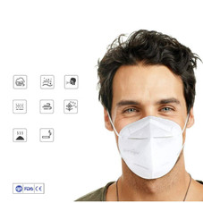 KN95 Face Mask Protectors - 5, 10, 20 Pack