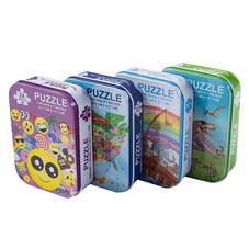 Assorted 24pc Puzzles Set - 4 Pack