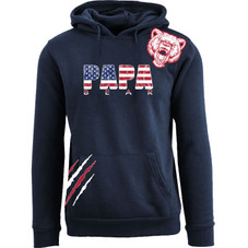 Cotton Thugs Men's Awesome 4th of July Themed Pull Over Hoodie