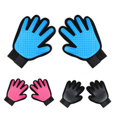 Right and Left Pet Grooming Gloves