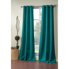 """Solid Triple Layered Blackout Curtains 38"""" x 84"""" - 4 Pack"""