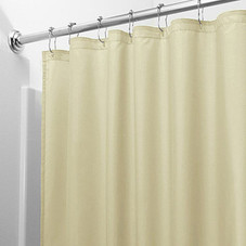 Heavy-Duty Magnetic Shower Curtain Liner - 2 Pack