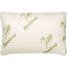 Bamboo Comfort Memory Foam Pillows - Hypoallergenic Cover - 1 or 2 Pack