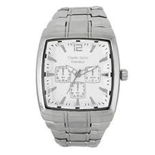 Charles Delon Men's Watches 5150 GPWS Silver Stainless Steel Quartz Square
