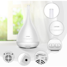 LANTARK Essential Oil Diffuser & Cool Mist Humidifier with Lights