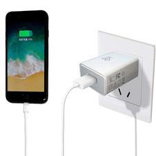 12W USB Fast-Charging Wall Charger Power Adapter