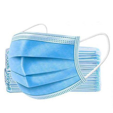 3 Ply Non-woven Disposable Face Mask - 50 Pack