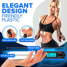 Adjustable Digital Cordless Weighted Jump Rope