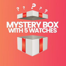 5 Piece Mystery Watch Deal - Men's and Women's Options
