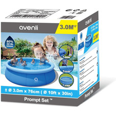 Avenli Family Childrens Inflatable Swimming Pool with Thick Paddling