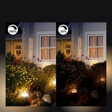 Philips Hue Ludere Outdoor Security Light Plus Two Hue PAR38 LED Smart Bulbs