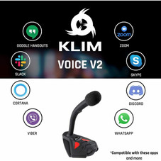 KLIM Voice V2 USB Microphone for PC or MAC Gaming, Streaming or YouTube