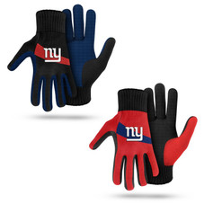 NFL Colored Palm Utility Work Gloves - 2 Pack