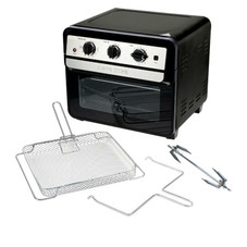Curtis Stone Dura-Electric 1700-Watt 22L Air Fryer Oven with Rotisserie