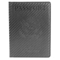 Passport Holder with CDC Vaccination Card Protector
