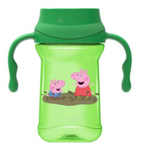 Playtex Stage 1 Peppa 360 Spoutless 10 oz Sippie Cup