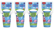 Playtex Peppa Pig Spill Proof 2 Piece Cup, Stage 2, 12M+, 10 oz, 1 cup
