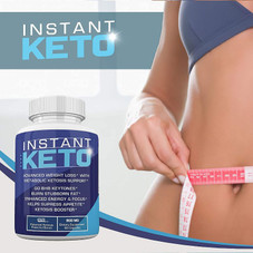 Instant Keto Advanced Weight Loss with Metabolic Ketosis Support 800MG - 60 Pills