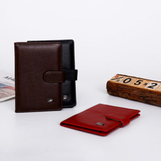 Passport Holder with Vaccination Card Protector - 3 Colors
