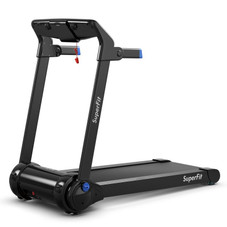 3HP Folding Electric Treadmill with Bluetooth Speaker