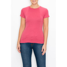 Women's Super Soft 100% Combed Cotton T-Shirts - 2 Pack