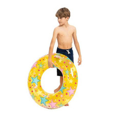 """32"""" Inflatable Pool Tubes with Glitter - 2 Pack"""